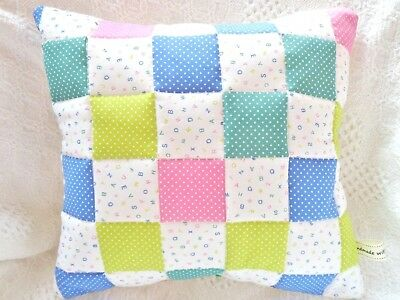 Patchwork Quilting Kit Easy For Beginners Machine or Hand Sewing Project CUSHION
