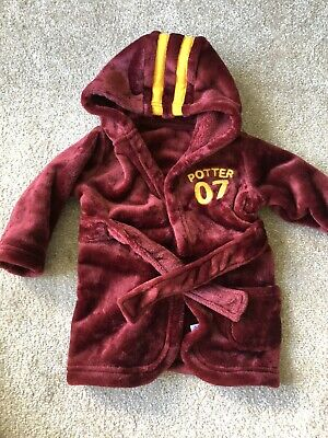 Harry Potter Dressing Gown Gryffyndor 3-6 Months