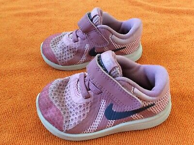 Kids toddlers girls Nike trainers shoes size 4.5 infant