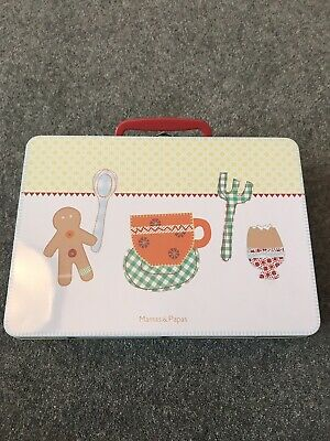 Mamas And Papas Gingerbread Breakfast Set Bnwt