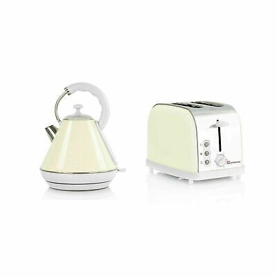 Electric Kettle and Toaster Chantilly-Cream by SQ