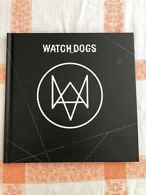 Watch Dogs Official Artbook Sony PlayStation PS3 Art book Watch Dogs