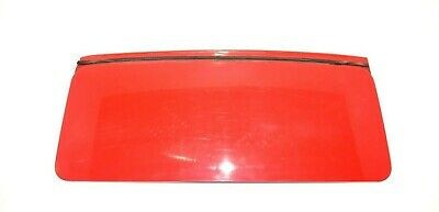 Genuine Porsche 911 1965-1989 Sun Roof Panel Lid Red 90156405105 USED