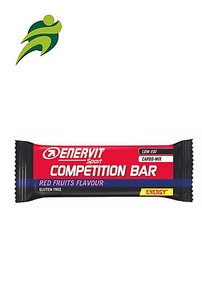 Enervit Sport Competition Bar Red Fruits BOX da 25 pz