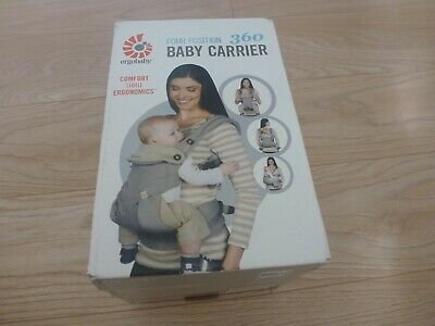 Ergobaby 360 baby carrier in grey