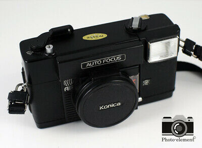 Konica C35 AF 35mm Film Camera with F/2.8 Lens | Mint Condition