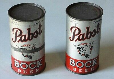 Rare Pabst Bock Beer...sealed Cans 1936