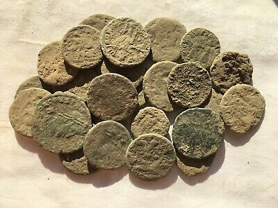 Nice anciente lot 25e  Roman uncleaned coins