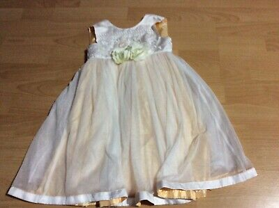Kids girls monsoon party dress size age 2-3 years