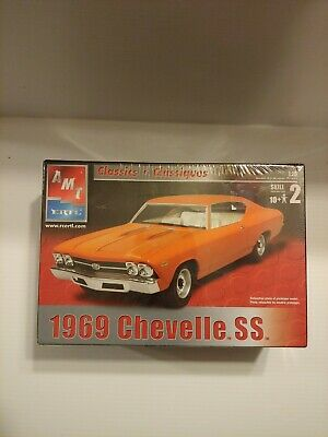 AMT ERTL 31792 Classics 1969 Chevelle SS 1/25 Scale (Factory Sealed)