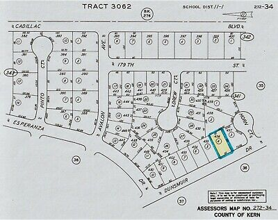 Subdivision Lot - California City, Ca - No Minimum - No Reserve