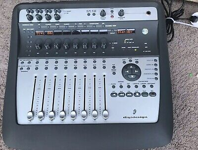 Digidesign MX002 Audio Music Console Controller System, 8 Channel Mixer