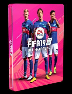 Fifa 19 Steelbook Steel Box Steelcase without Game New PS3 PS4 Xbox One No Game