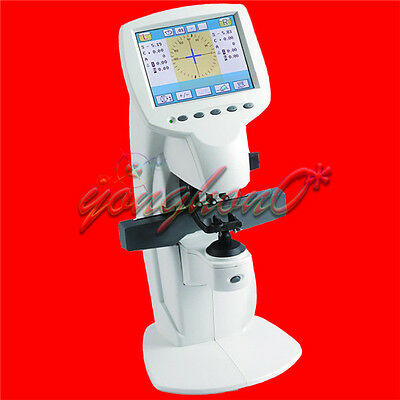 FL8600 Auto Optical Lensmeter Lensometer Machine Built-in Printer PD Meter 110V