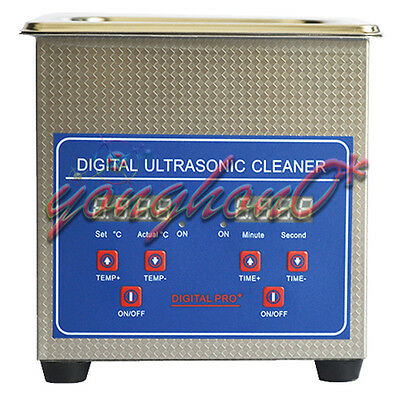 1.3L Stainless Steel Ultrasonic Cleaner Cleaning Machine JPS-08A 110V/220V NEW