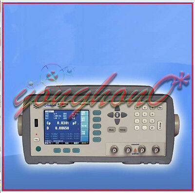 AT2817A High Precision Digital LCR Meter 50Hz~100kHz 16 points Programmable