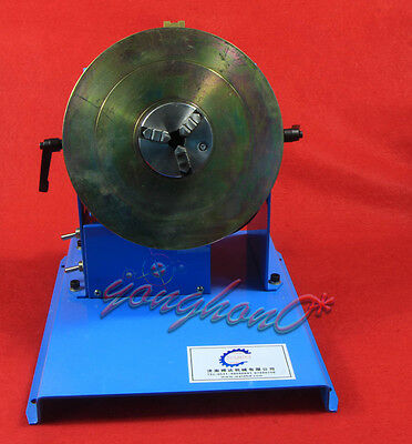 1PCS 2-18RPM 10KG Light Duty Welding Turntable Positioner with 65mm Chuck