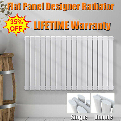 Vertical Designer Radiator Oval Column Tall Upright Central Heating Radiators UK