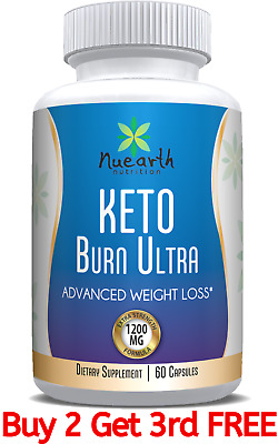 KETO DIET PILLS - Extra Strong advanced weight loss formula for quick Ketosis
