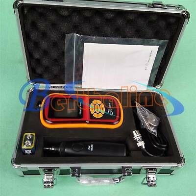 GM63B Portable Digital Vibration Analyzer Vibrometer Temperature Tester