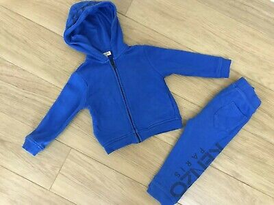 Genuine Boy's Kenzo Tracksuit. Age 2 Years / 86Cm. Very Good Condition.