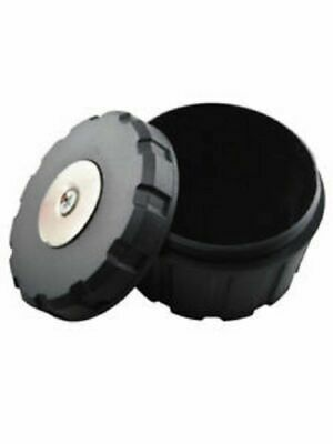 Small & Round Magnetic Hidden Safe Stash Secret Storage Box Container for Car