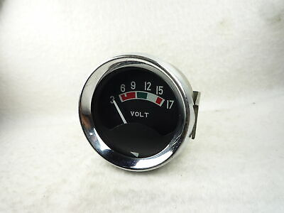 12V YAZAKI BATTERY VOLTS GAUGE austin morris mini classic ford escort vauxhall