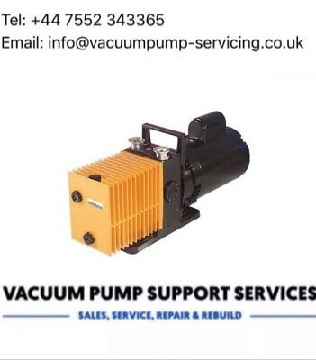 Alcatel 2004a Vacuum Pump-SERVICED-WARRANTY-£395 INC VAT Edwards Leybold Lab Knf