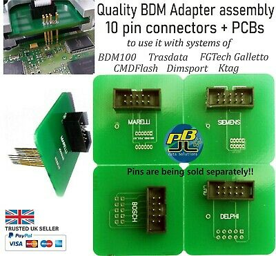 BMD Adapter assembly 4 PCBs+connectors for Delphi, Bosch, Marelli, Siemens ECUs