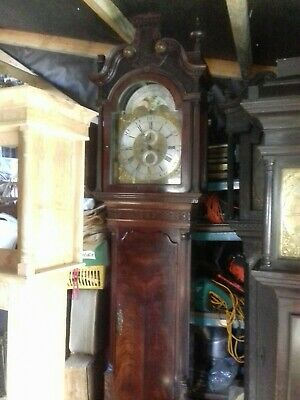 James Beesley Of Manchester Longcase Grandfather 8day Clock