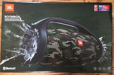JBL Boombox Portable Bluetooth Speaker in Camouflage *Brand New and Sealed!*