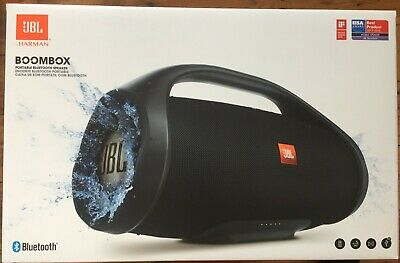 JBL Boombox Portable Bluetooth Speaker in Black *Free Next Day Delivery*