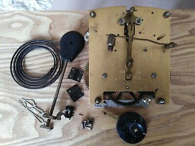 Smiths Enfield Movement... Good Working Order... Plus Gong and Pendulum etc..