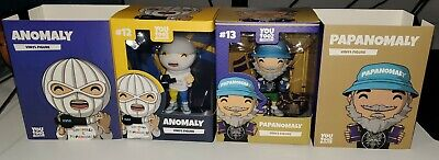 Anomaly and Papanomaly YouTooz Brand New Unopened You Tooz SEND OFFERS Vinyl