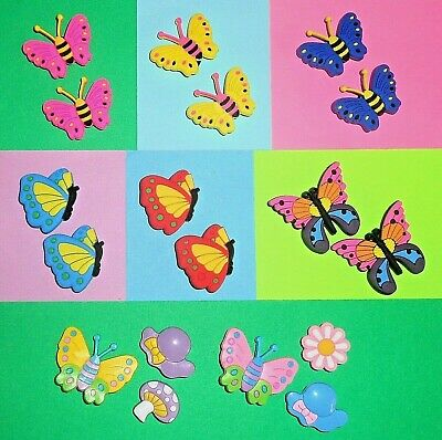 Butterfly  Shoe Charms Shoe Buttons Plugs Accessories Shoe Decorations