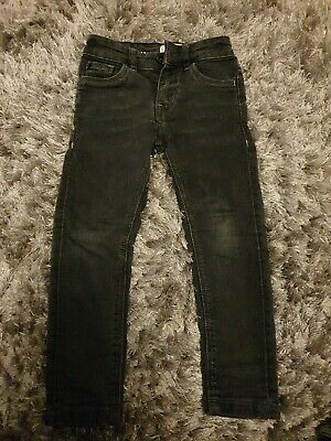 Matalan Black Super Skinny Boys Jeans. 4 Years.