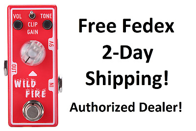 New Tone City T1 Wild Fire Distortion Guitar Effects Pedal