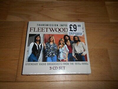 Fleetwood Mac Transmission Impossible 2018 Cd Set X3 Brand New And Sealed