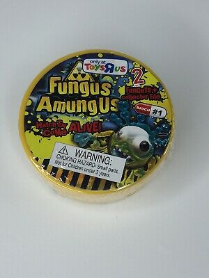 Rare Fungus Amungus Mystery Figures (2 FunGuys and Collector File) AGES 3+