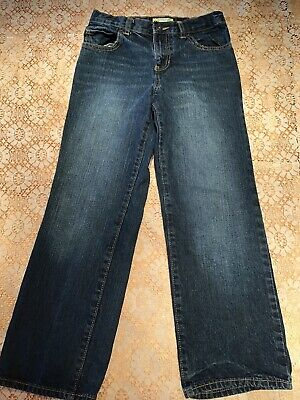 Old Navy Boys Blue Jeans, Size 10 Regular.  Straight.