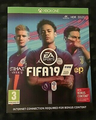 Fifa 19 (Xbox One) With Bonus Content Brand New and Sealed UK PAL XBOX ONE GAME