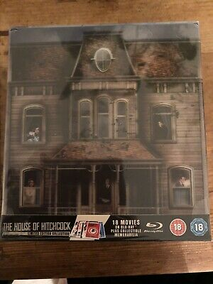 The House Of Hitchcock 18 blu-ray Collection - BRAND NEW