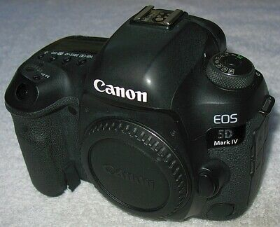 Canon EOS 5D Mark IV (WG) 30.4MP  MINT OEM Boxed (Body and Accessories) USA Ver.