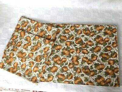 Longaberger Autumn Pumpkin Patch Napkins & Placemats Set of Two