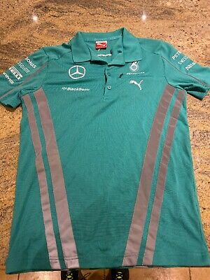 Mercedes AMG Petronas F1 Team Issue T Shirt Size XS Rare