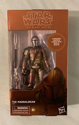 "Star Wars The Black Series 6"" Carbonized Mandalorian TARGET EXCLUSIVE *IN HAND*"
