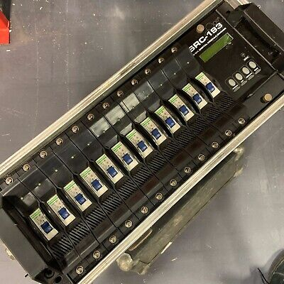SRC-193 Digital 12CH DMX Dimmer Pack/Rack 12x 10A Flightcase 3Phase Distro