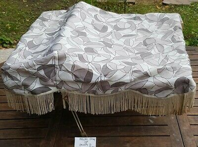 "VINTAGE PELSO CANOPY IN GRAY 19"" for coach built pram silver cross"
