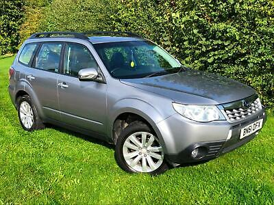 2011 61 Subaru Forester XS 2.0i Auto Grey 2 Owners Petrol Leather Long MOT FSH