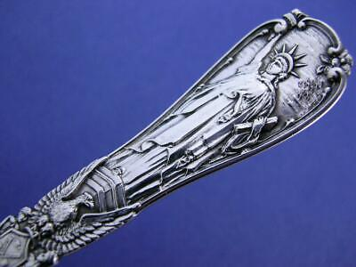 Sterling TIFFANY & CO Souvenir Spoon STATUE OF LIBERTY New York ~ Mint Cond